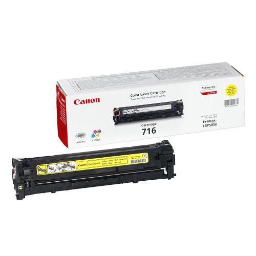 Canon CRG-716Y rumen toner za LBP-5050/n 1.500 strani