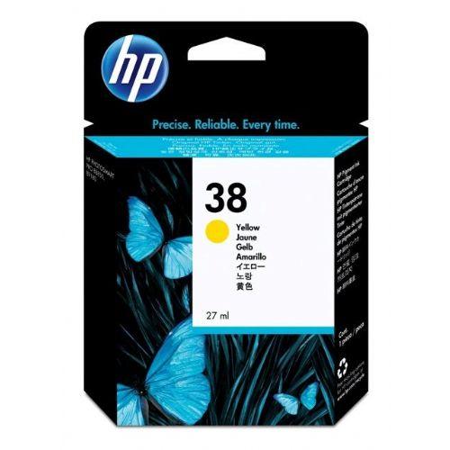 ČRNILO HP RUMENO 38 ZA PS B9180GP, B9180 , 27ML (C9417A)