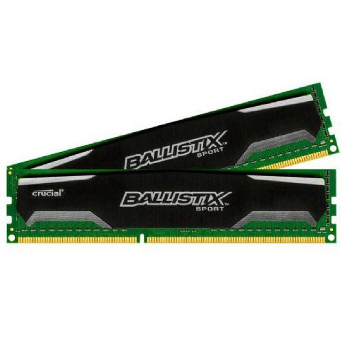 CRUCIAL Ballistix Sport 8GB 1600MHz DDR3 (2x4GB) (BLS2CP4G3D1609DS1S00CEU) ram pomnilnik