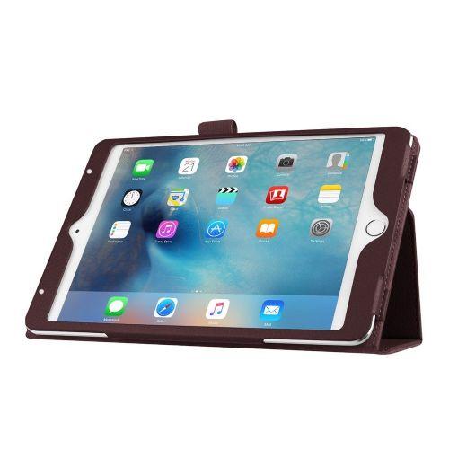"""Eleganten pameten etui """"Smart Litchi"""" za iPad Mini 4 - rjav"""