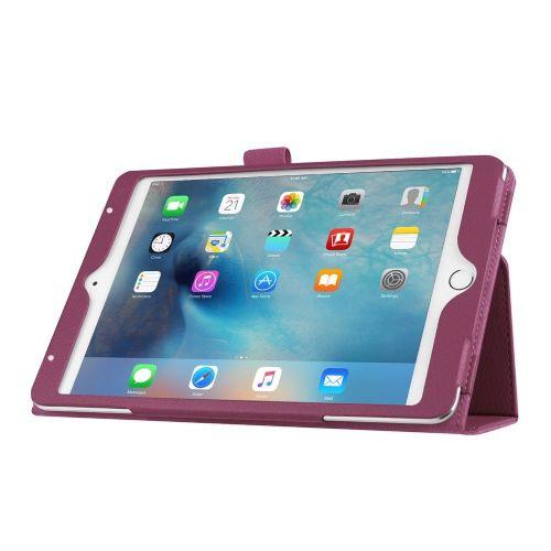"""Eleganten pameten etui """"Smart Litchi"""" za iPad Mini 4 - vijoličen"""