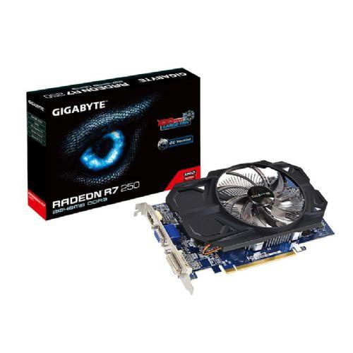 GIGABYTE Radeon R7 250 OC 2GB GDDR3 (GV-R725OC-2GI) grafična kartica