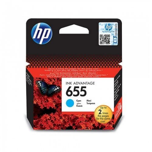 HP črnilo CZ110AE št.655 Cyan Ink Cartridge