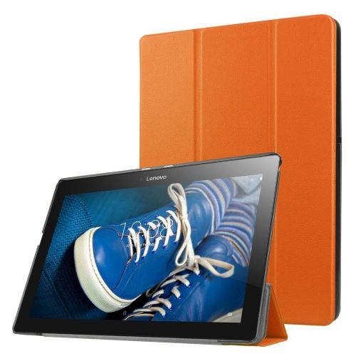 """Izjemno tanek etui """"Fold"""" za Lenovo Tab 2 A10-30 - oranžen"""