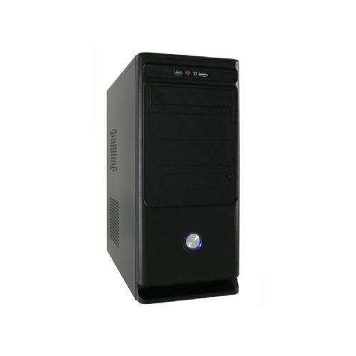 LC-POWER Classic 7010B midi ATX s 450W 80+ Bronze LC600-12 napajalnikom črno ohišje