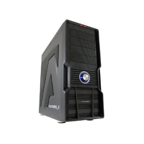LC-POWER Gaming 973B Fortress_X midi ATX črno ohišje
