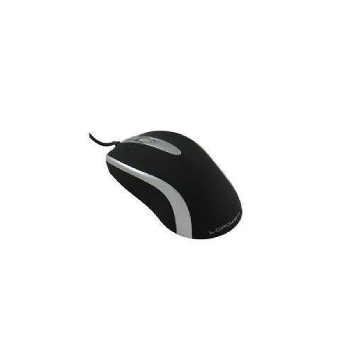 LC-POWER m709BS USB optična črna/srebrna miška