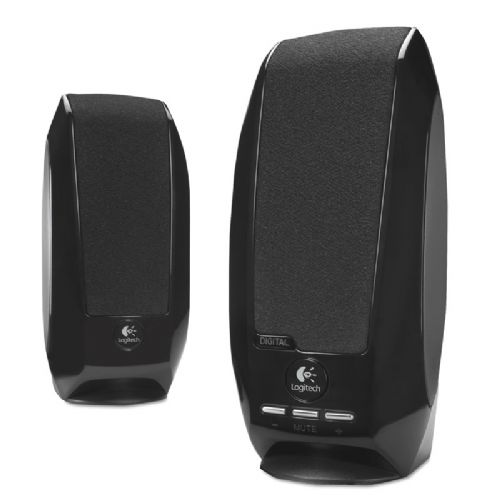 Zvočniki Logitech S150 2.0 1.2W USB črni