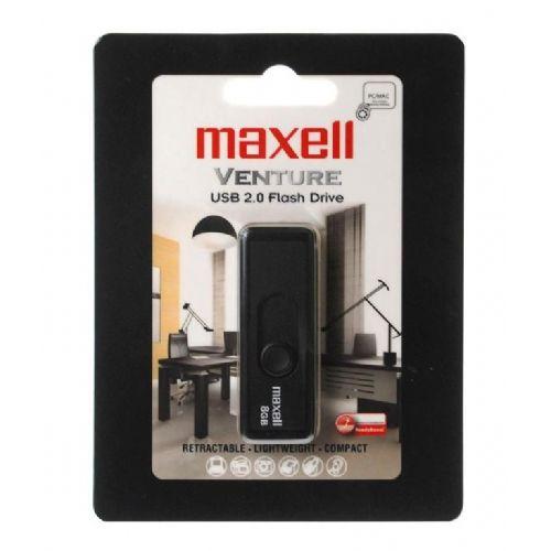 MAXELL USB ključ  8GB VENTURE (10M/5M)