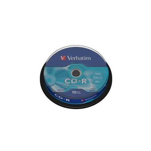 MEDIJ CD-R VERBATIM 10PK tortica (43437)