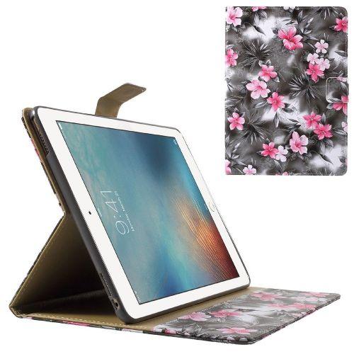 "Modni etui ""Gentle Flower"" za iPad Pro 9.7 - črn"