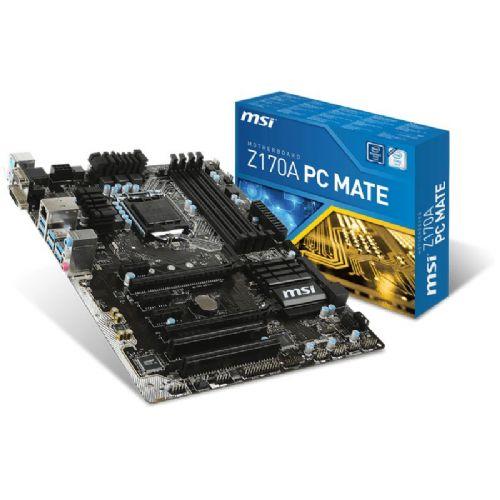 MSI Z170A PC MATE LGA1151 ATX DDR4 osnovna plošča