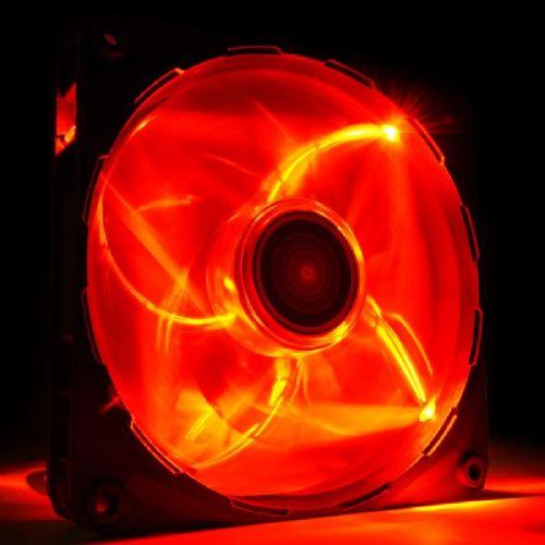 NZXT FZ 120mm (RF-FZ120-R1) rdeč LED ventilator