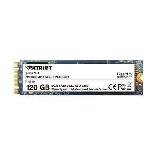 SSD Patriot Ignite M.2 120GB M.2 2280 SATA3 (PI120GSM280SSDR)