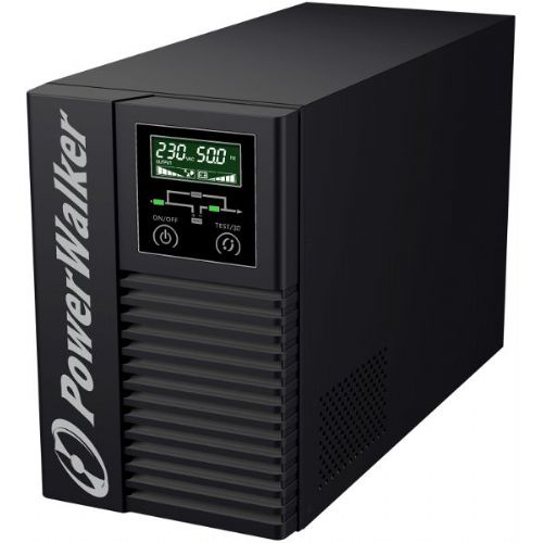 POWERWALKER VFI 1000T/E LCD online 1000VA 900W UPS brezprekinitveno napajanje