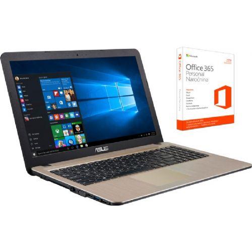 """Prenosnik ASUS X540LA-XX538T i3/4GB/1TB/Windows 10/Office 365/15,6"""""""