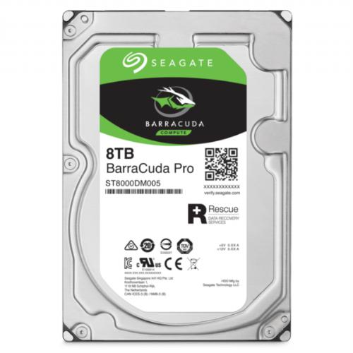 Seagate trdi disk 8TB 7200 256 MB SATA 6Gb/s BarraCuda Pro - ST8000DM005