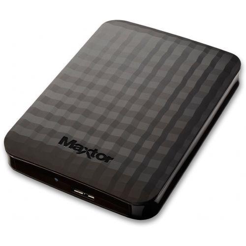 """Zunanji disk Maxtor M3 1TB USB 3.0 2,5"""" črn"""