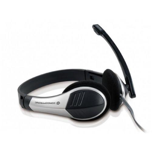 Slušalke z mikrofonom Conceptronic ALZ42EKK9OLD