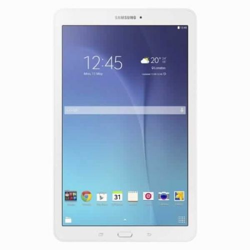"Tablični računalnik Samsung Galaxy Tab E T560 9,6"" bele barve"