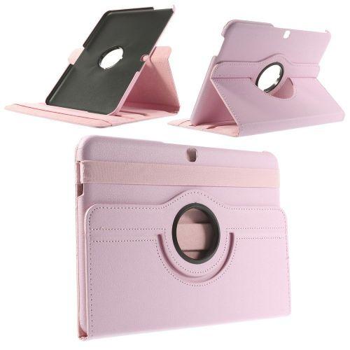 "Tanek eleganten etui ""Rotate 2"" za Samsung Galaxy Tab 4 10.1 - roza"