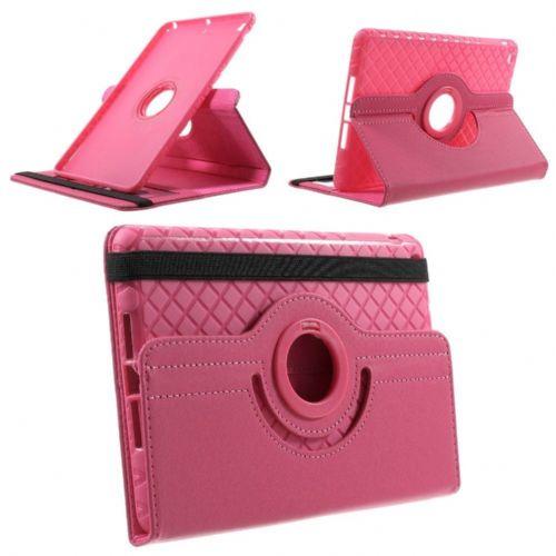 "Tanek eleganten etui ""Rotate"" za iPad Mini 3 / Mini Retina / Mini - roza"