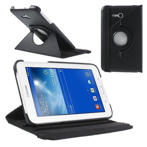 "Tanek eleganten etui ""Rotate"" za Samsung Galaxy Tab 3 7.0 Lite - črn"