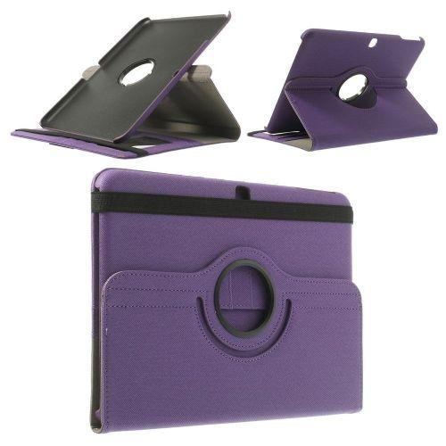 "Tanek eleganten etui ""Rotate"" za Samsung Galaxy Tab 4 10.1 - vijoličen"
