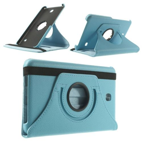 "Tanek eleganten etui ""Rotate"" za Samsung Galaxy Tab 4 7.0 - moder"