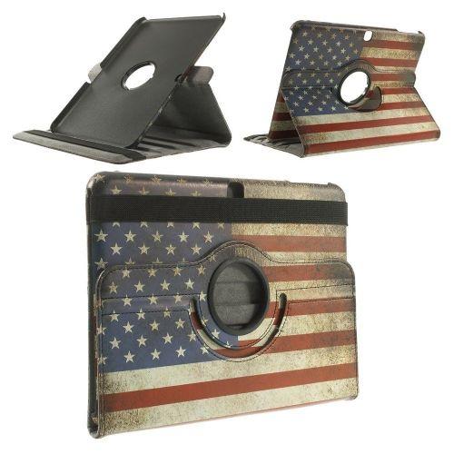"Tanek modni etui ""Retro USA"" za Samsung Galaxy Tab 4 10.1"