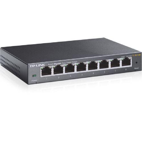 TP-LINK TL-SG108E Easy Smart 8-port gigabit mrežno stikalo-switch