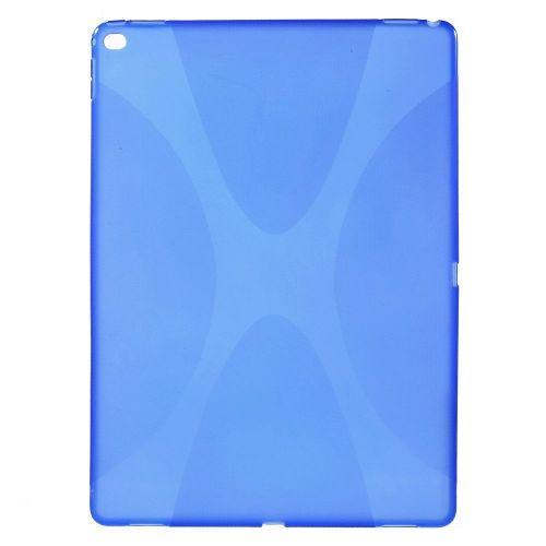 """TPU gel ovitek """"X-Line"""" za iPad Pro 12.9 - moder"""