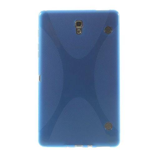 "TPU gel ovitek ""X-line"" za Samsung Galaxy Tab S 8.4 - moder"