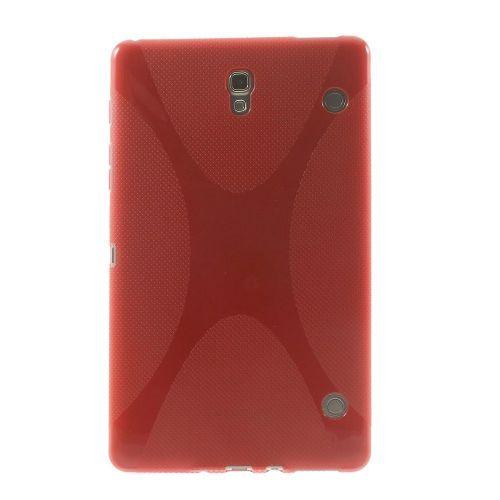 "TPU gel ovitek ""X-line"" za Samsung Galaxy Tab S 8.4 - rdeč"