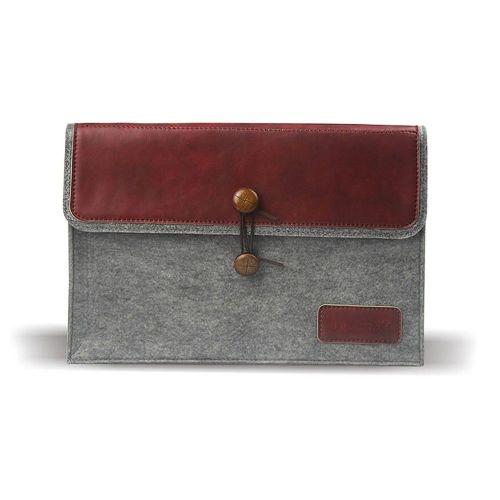 Univerzalna torba za mobilne naprave: 34 x 24 cm - vinsko rdeča