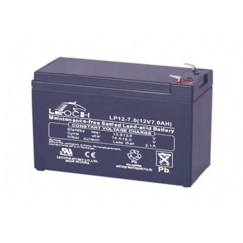 UPS baterija LEOCH LP12-7.0, 7,0Ah 12V
