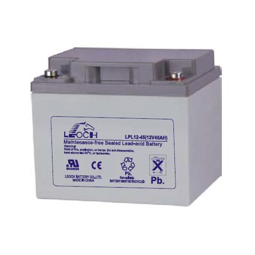 UPS baterija LEOCH LPL12-45, 45Ah 12V, Long Life 10-12 let