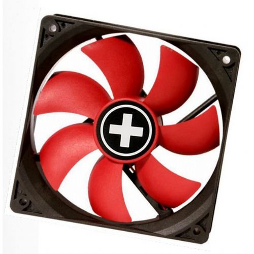 Ventilator  8x8x2,5cm 12v 3/4p Xilence RedWing TE0089501
