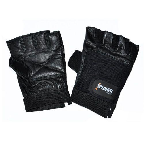 Fitnes rokavice Xplorer Classic Leather XXL