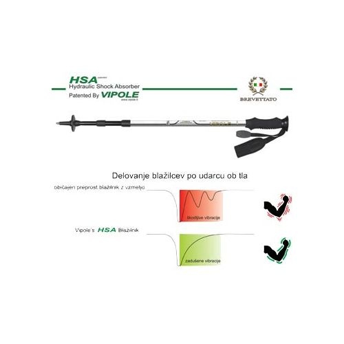 Zložljive pohodne palice VIPOLE HSA EVA