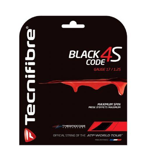 Tenis struna Tecnifibre Black Code 4S - Set