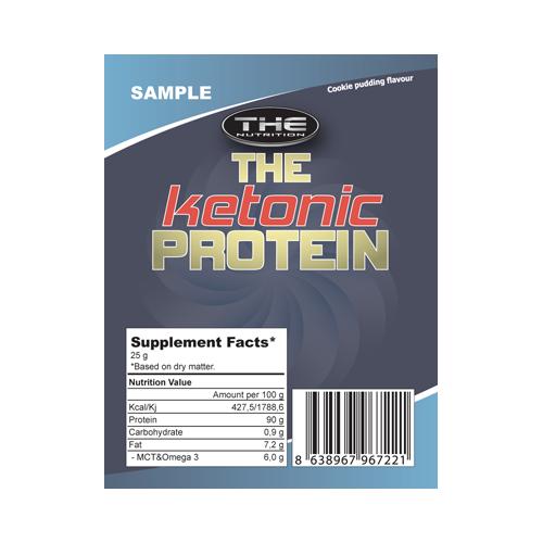 THE Ketonic protein - vzorec