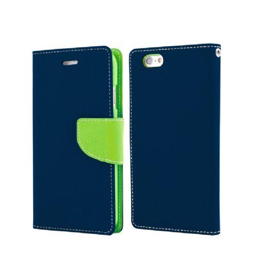 Havana preklopna torbica Fancy Diary Huawei P8 Lite - modro zelen