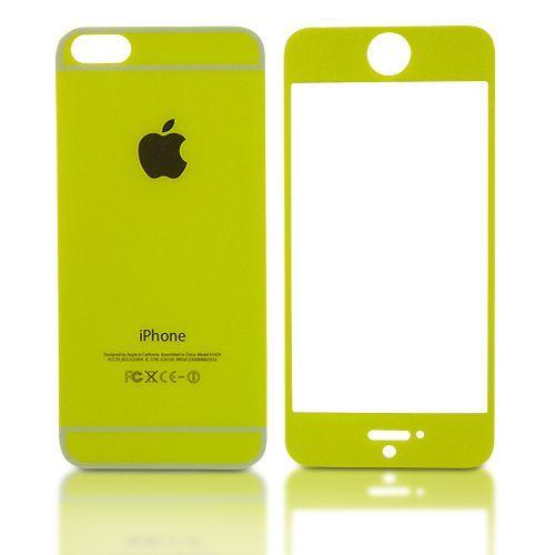 I-Phone 5/5s zaščita spredaj-zadaj SV1004