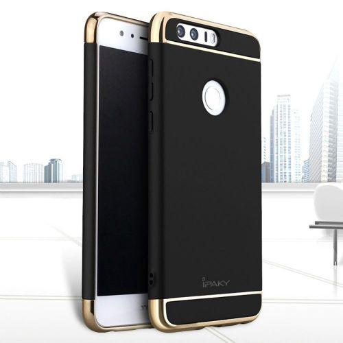Ipaky trodelni trden TPU ovitek za Huawei Honor 8 - črn