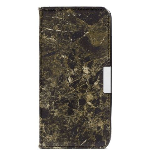 "Modni etui ""Marble"" za Huawei Mate 9 - črn"