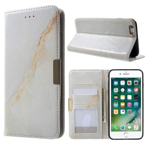 """Modni etui """"Marble"""" za iPhone 6 / 6S - zlate barve"""