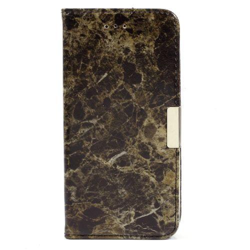 "Modni etui ""Marble"" za Samsung Galaxy S7 - črn"