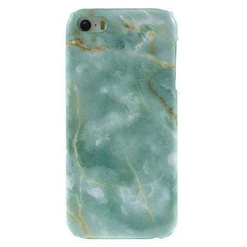"Modni ovitek ""Marble"" za iPhone SE / 5 / 5S - zelen"