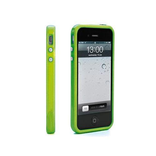 Muvit ohišje BUMPER iPhone 5/5S/SE zelen + zašćitna folija